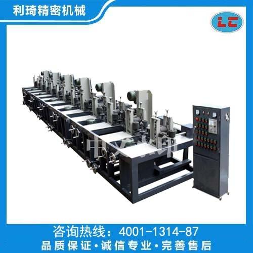 六组方管自动抛光机LC-ZP106
